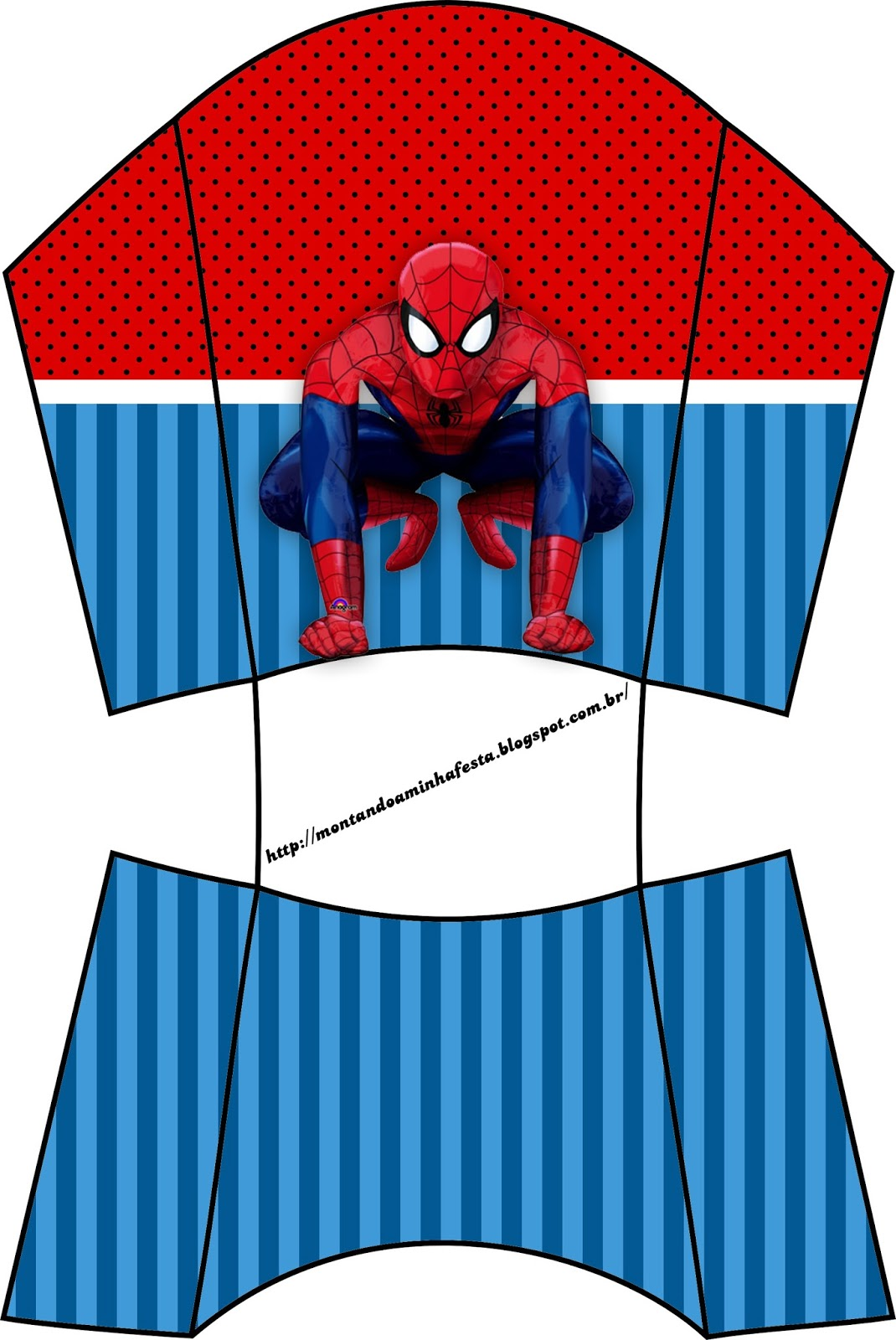 Spiderman Party Free Printable Boxes