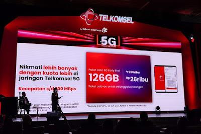 Harga Paket Telkomsel 5G