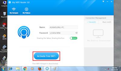 Cara Menjadikan PC sebagai Wi-Fi Hotspot