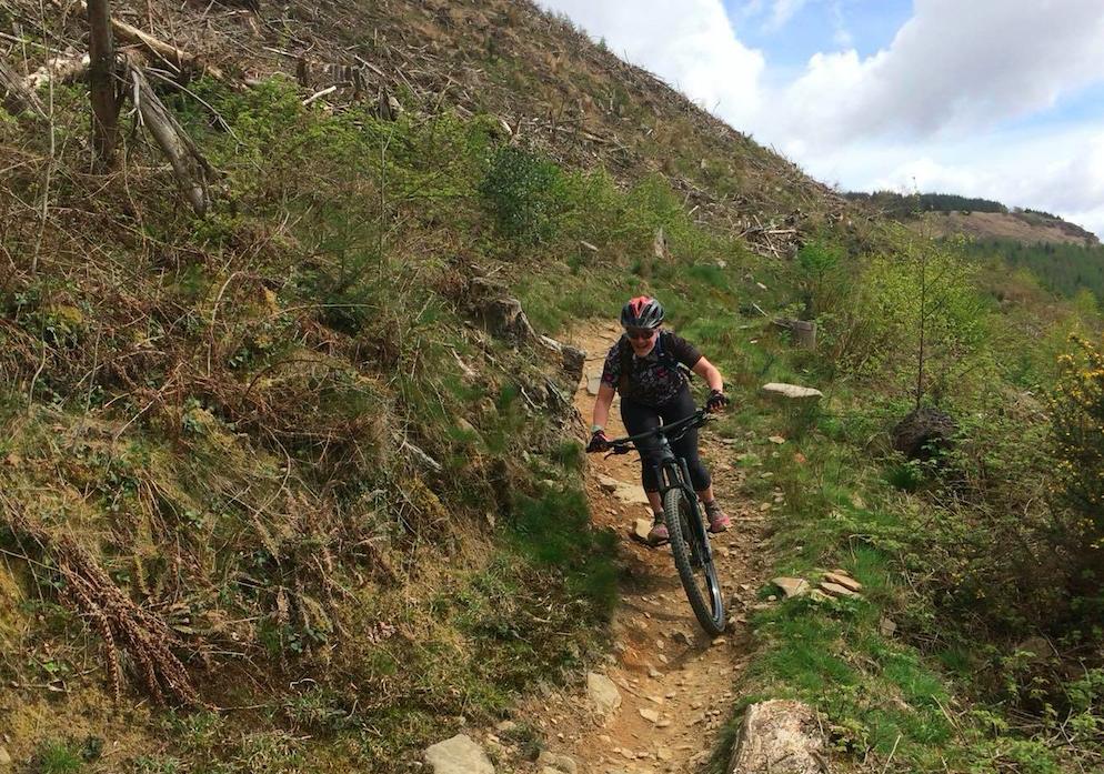 FitBits | Mountain biking in Wales | Afan Forest Park Y Wal