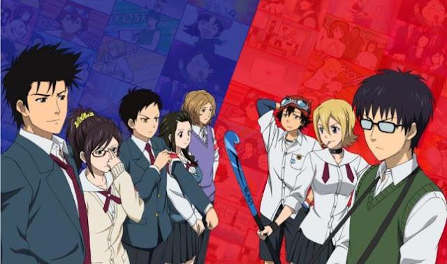Daftar Anime School Comedy Terbaik dan Terpopuler - Sket Dance