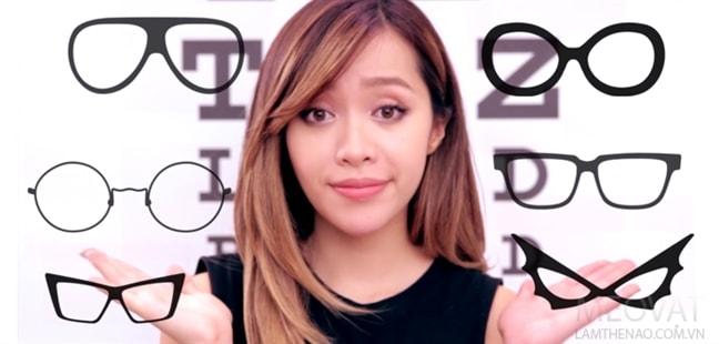 Bí kíp lựa chọn gọng kính phù hợp với từng hình dáng khuôn mặt -1