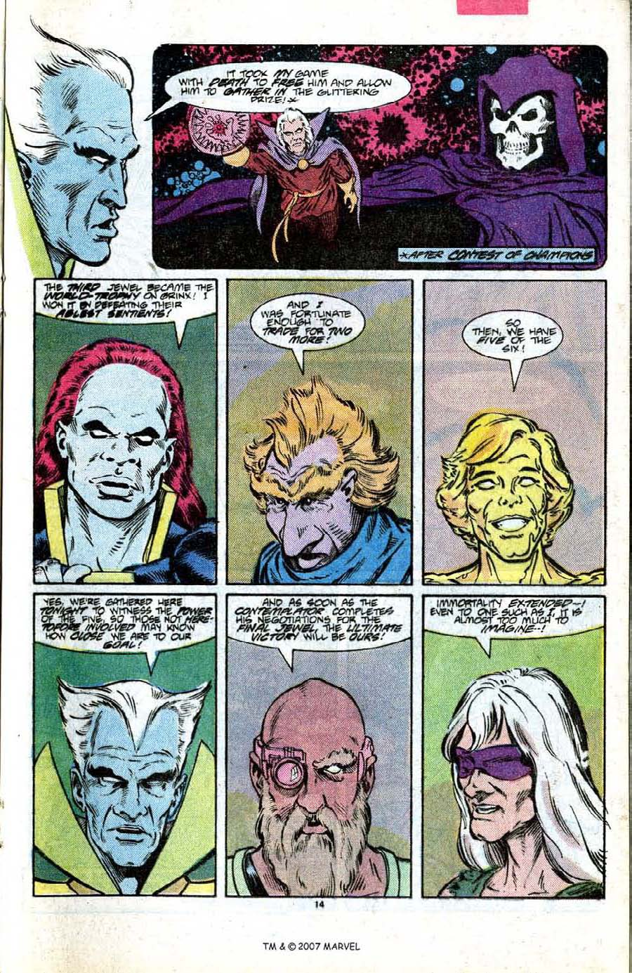 Read online Silver Surfer (1987) comic -  Issue #7 - 21