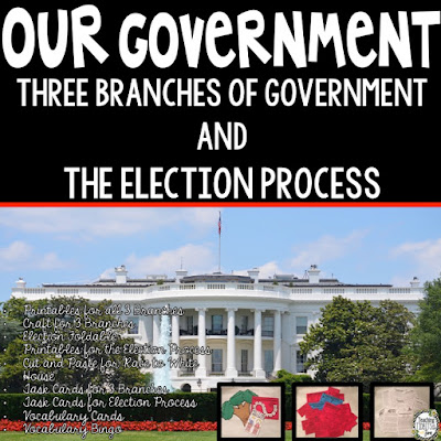 Our Government Unit:  Three Branches of Government & The Election Process