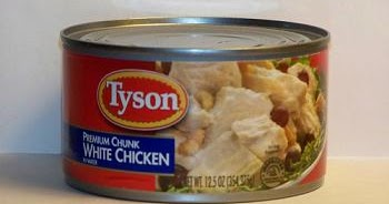 Canned Meat Review Tyson Premium Chunk White Chicken In Water