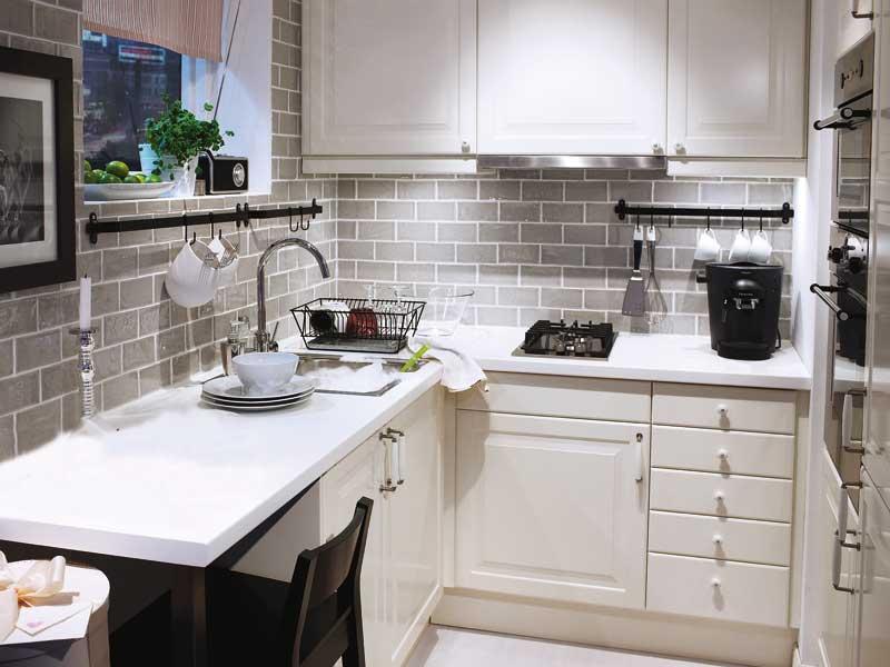 Decotips distribuir la cocina seg n su geometr a virlova style - Casas decoradas con ikea ...