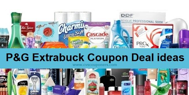 P&G Extrabuck Coupon CVS Deals - 7/7-7/13