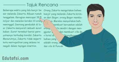 Pembahasan UNBK Bahasa Indonesia tentang tajuk rencana