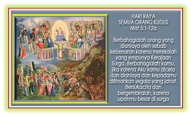 Hari Raya Semua Orang Kudus