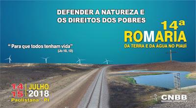 14ª Romaria da Terra e da Água no Piauí