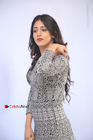 Actress Chandini Chowdary Pos in Short Dress at Howrah Bridge Movie Press Meet  0062.JPG