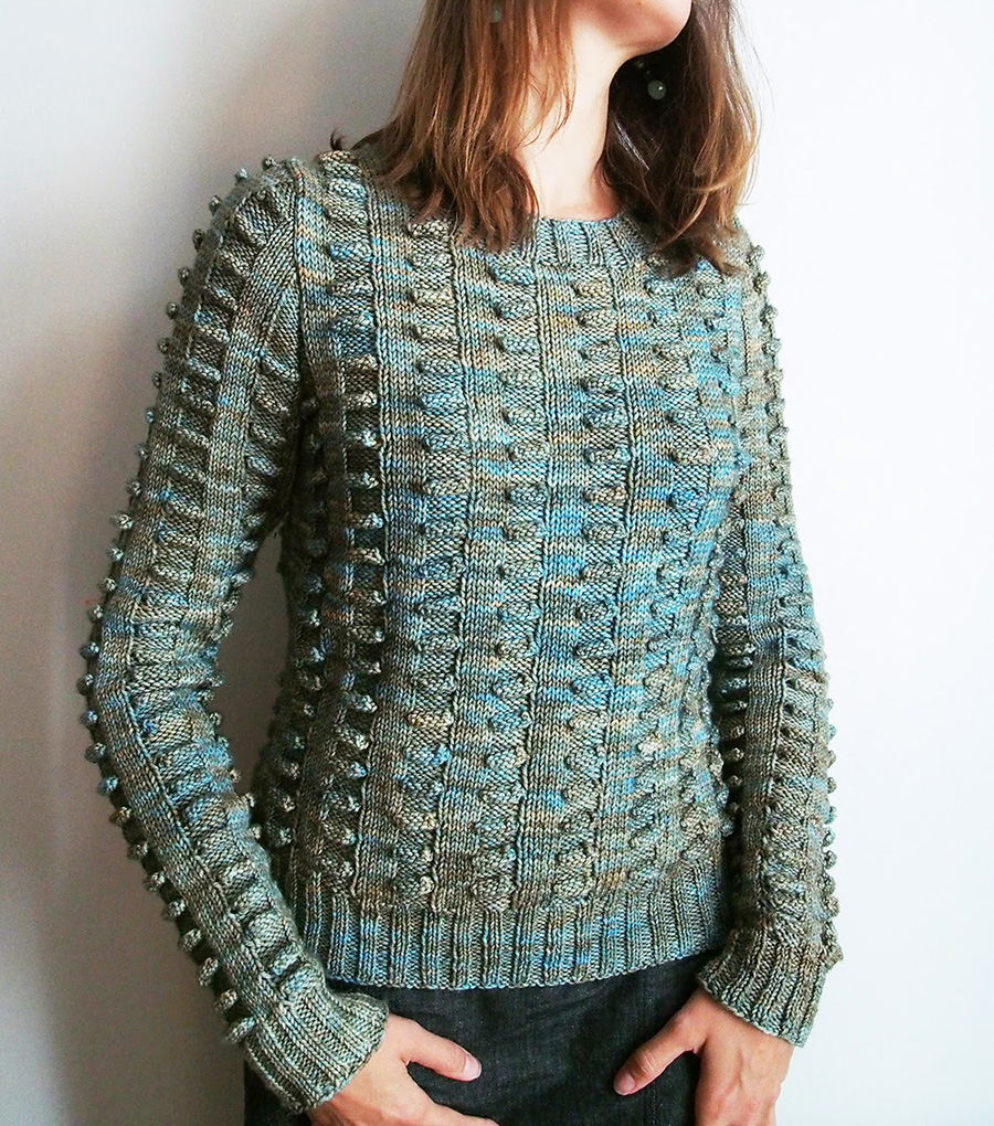 Wilderness by Martin Storey in Madelinetosh DK, knit by Dayana Knits