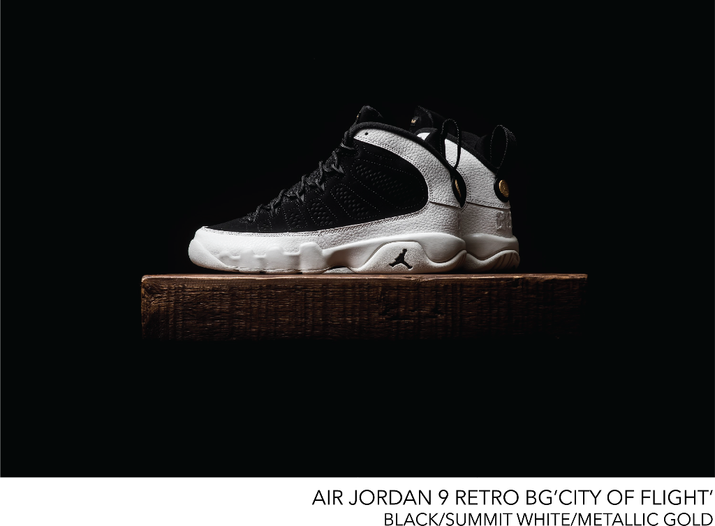 newest f5c9a 9d793 KIX & LIDZ: Air Jordan 9 Retro BG 'City Of Flight'