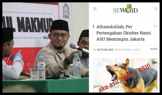 Pemuda Muhammadiyah Akan Laporkan Seword ke Kemkominfo Untuk Ditutup