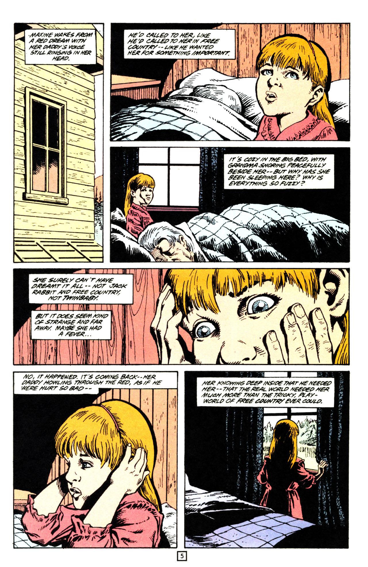 Read online Animal Man (1988) comic -  Issue #71 - 6