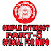 SIMPLE INTEREST MATHS TRICKS FOR NTPC PART - 5