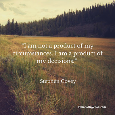 Stephen Covey's motivational quote