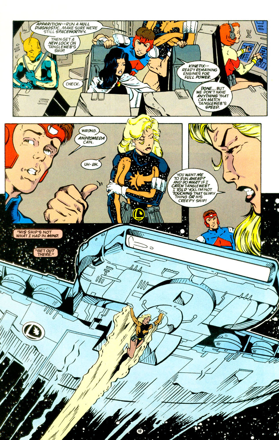 Legion of Super-Heroes (1989) 67 Page 18