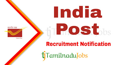 India Post Recruitment notification 2019, govt jobs for 10th pass,