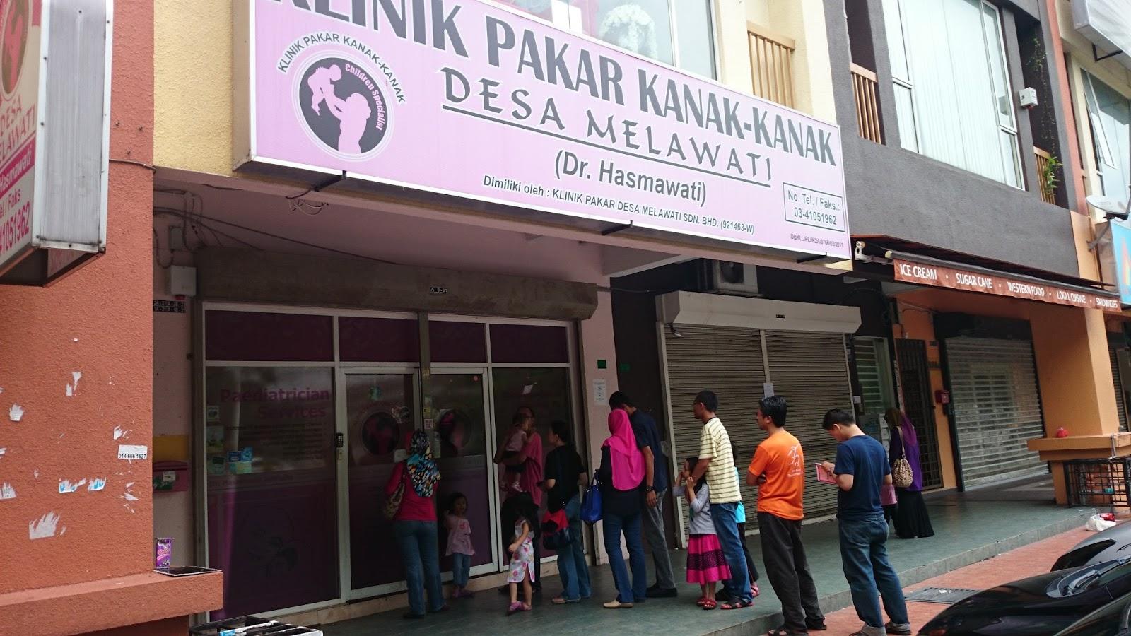 Eddy Irwan Sesuap Nasik Favourite Paed Klinik Pakar Wanita Kanak Kanak Desa Melawati