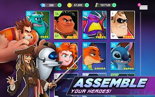 تحميل لعبة Disney Heroes: Battle Mode اخر اصدلر مجانا للاندرويد