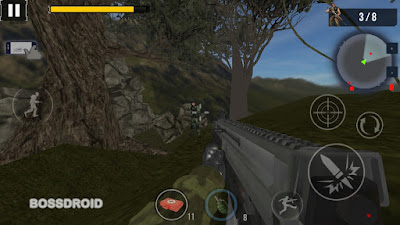 Mountain Assault Shooting Arena Mod Apk