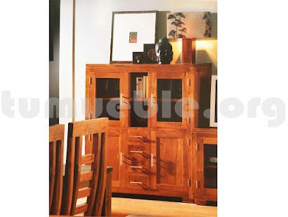 mueble aparador modular teca 4077