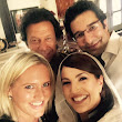 Legendary Selfie..! Imran & Reham Khan with Wasim & Shaniera Akram - Urdu Column Cooking Recipe Education NewsJobs Event Islam Video Wedding Poetry Picture Ladies Corner
