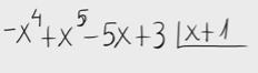 44.División de polinomios-regla de Ruffini