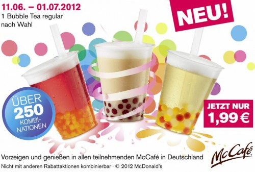 Mcdonalds Drinks Menu In Germany