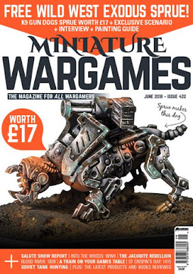 Miniature Wargames 422, June 2018