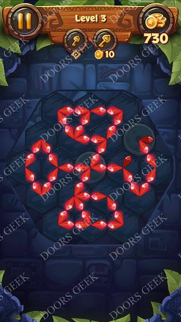 Gems & Magic [Indigo] Level 3 Solution, Walkthrough, Cheats