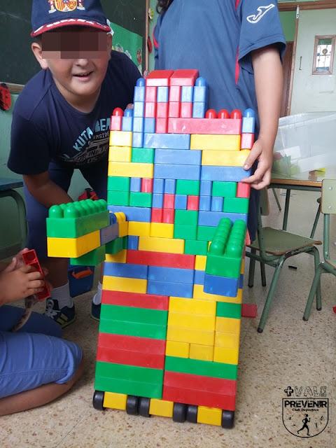 juego construcciones lego niños arucas