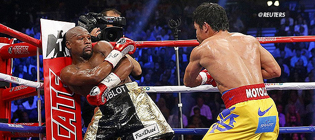 Floyd Mayweather Announces Manny Pacquiao Rematch In December (VIDEO)