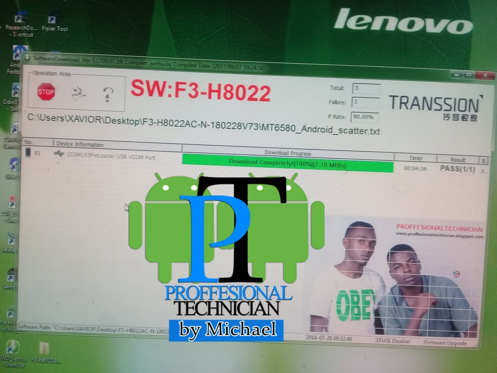 TECNO F3 (POP1) SIGNED FACTORY FIRMWARE FLASH FILE TESTED 100