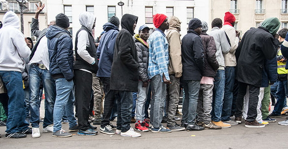 nigerian asylum seekers stopped germany