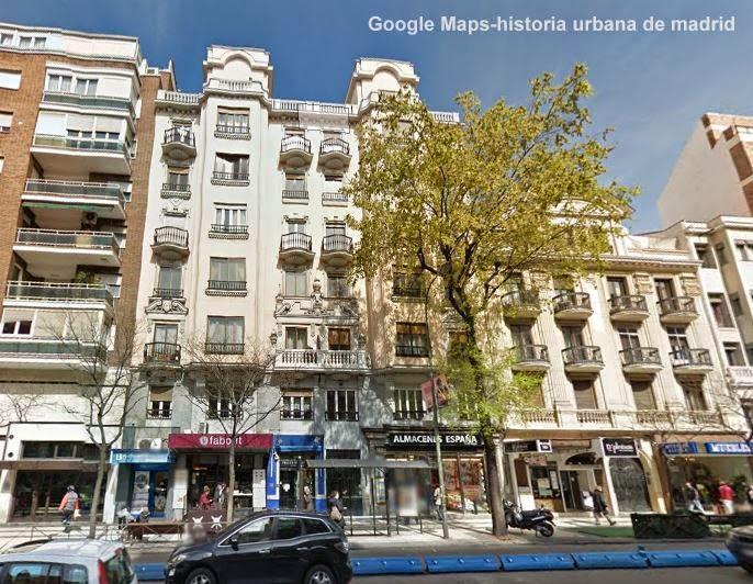 Historia urbana de madrid incendio en la calle de alcal for Pisos en calle alcala madrid