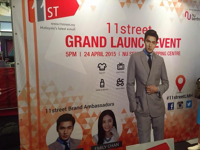 11street Grand Launch @NU Sentral, Kuala Lumpur