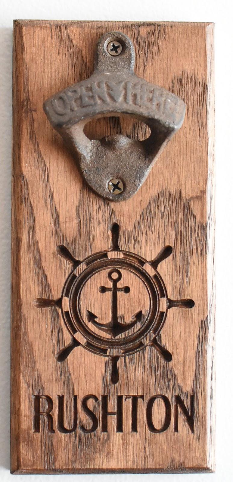 Anchor Bottle Opener - Rushton Style