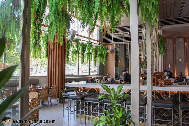Tropical feels as part of Mango Tree's new ambiance