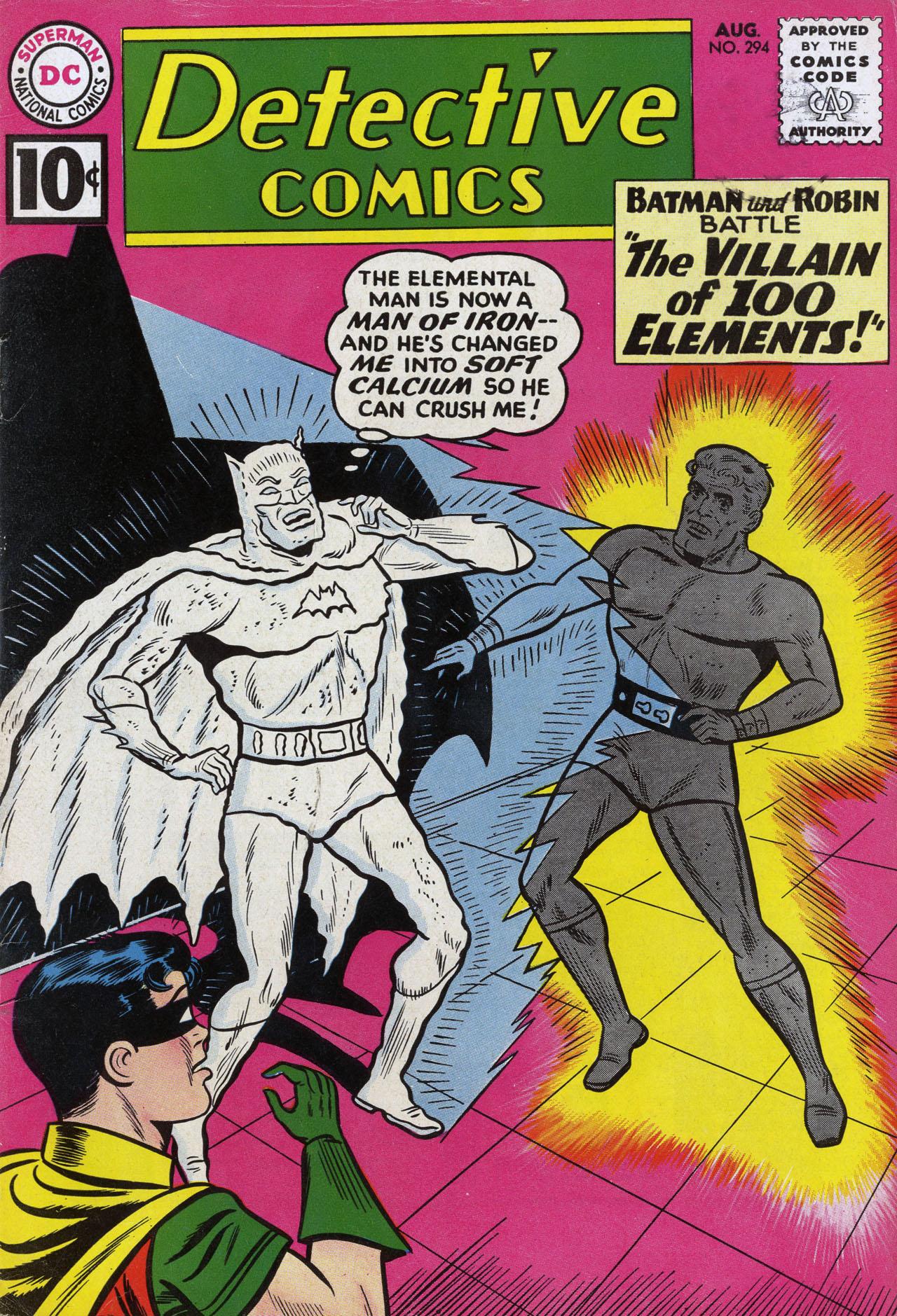 Detective Comics (1937) 294 Page 1
