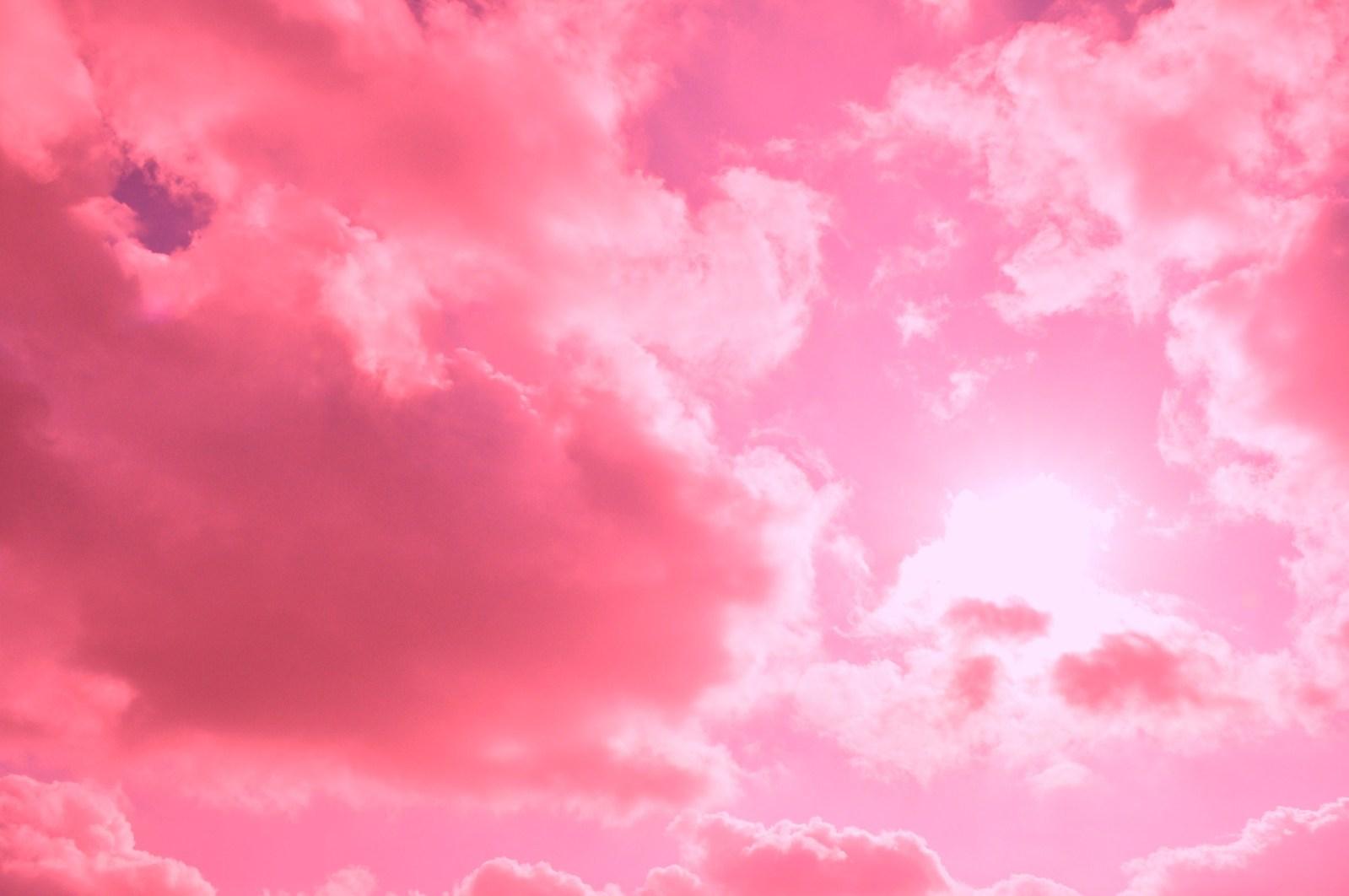Daftar Wallpaper Pink Cloud Wallpaper Bbm