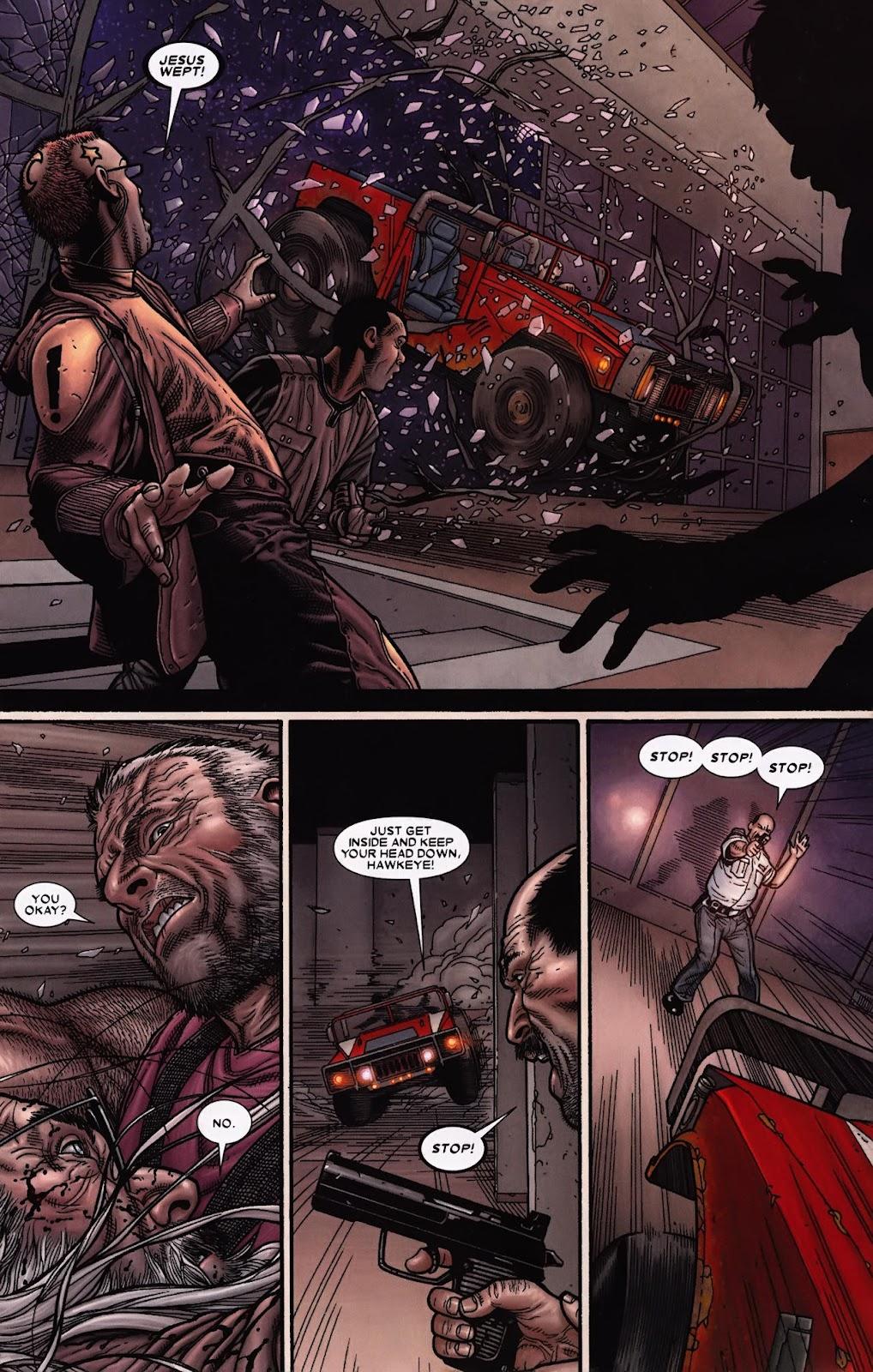 Read online Wolverine (2003) comic -  Issue #69 - 5