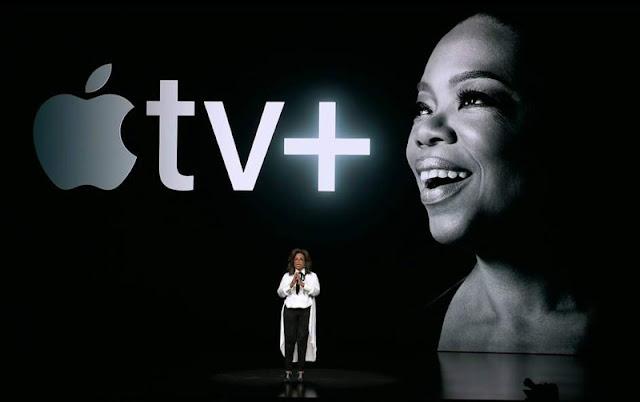 oprah winsfrey apple tv+ presentación
