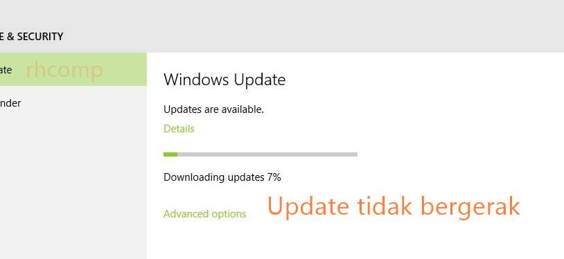Cara Mengatasi Windows Update yang stuck Pada Windows 10