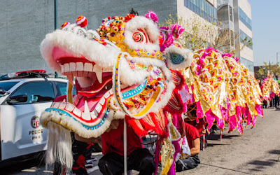 dragon on streets of chinatown los angeles feb 13 2016 levan tklaweeklycom - Chinese New Year Los Angeles