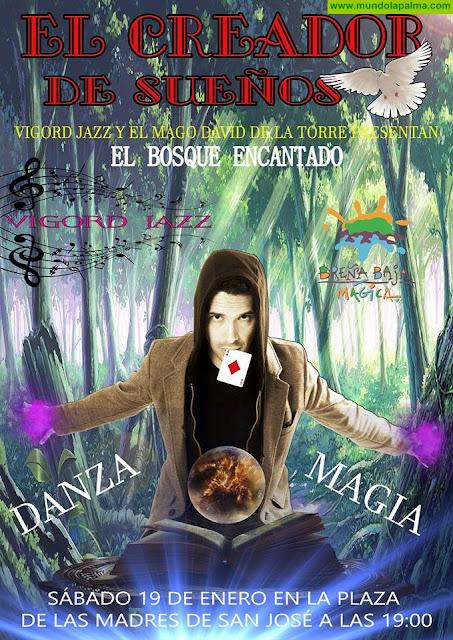 """El """"BOSQUE ENCANTADO"""", magia y danza"""