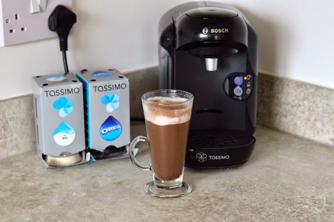 A Touch Of Tartan Oreo Hot Chocolate With Tassimo
