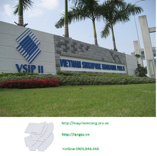Bán thẻ cảm ứng tại KCN VSIP II