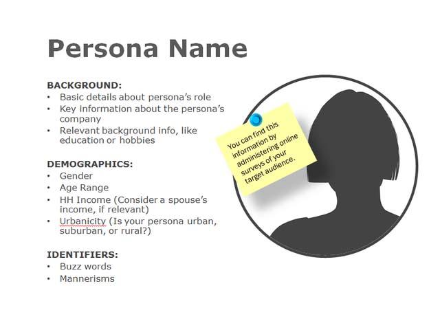 persona iformation